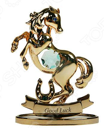 Фигурка декоративная с кристаллами Swarovski «Лошадка» 67680
