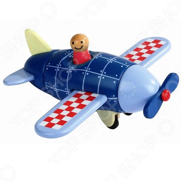 Конструктор магнитный Janod «Самолет»