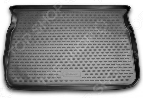 Коврик в багажник Element Peugeot 208, 2013, хэтчбек коврик в багажник novline peugeot 208 хэтчбек 2013 полиуретан carpgt10028