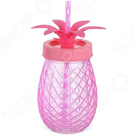 Бутылка для напитков Loraine LR-28184 бутылка для напитков renga с трубочкой 500 мл