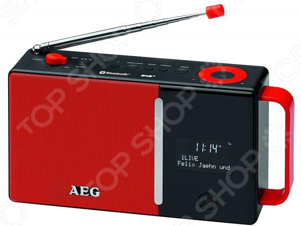 Радиоприемник AEG DAB 4158 DAB+ радиоприемник aeg dab 4153 черный dab