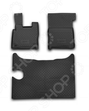 Комплект ковриков в салон автомобиля Novline-Autofamily DAF XF 2014