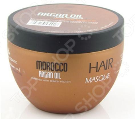 Маска восстанавливающая для волос Nuspa Morocco Organ Oil масло kativa morocco argan oil nuspa масло