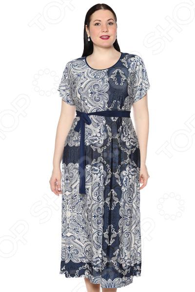 Платье Лауме-Лайн «Роскошный вечер». Цвет: синий