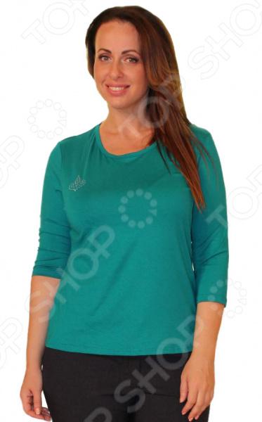 Комплект блуз Блуза Матекс «Милка»: 2 шт. Цвет: изумрудый, коричневый
