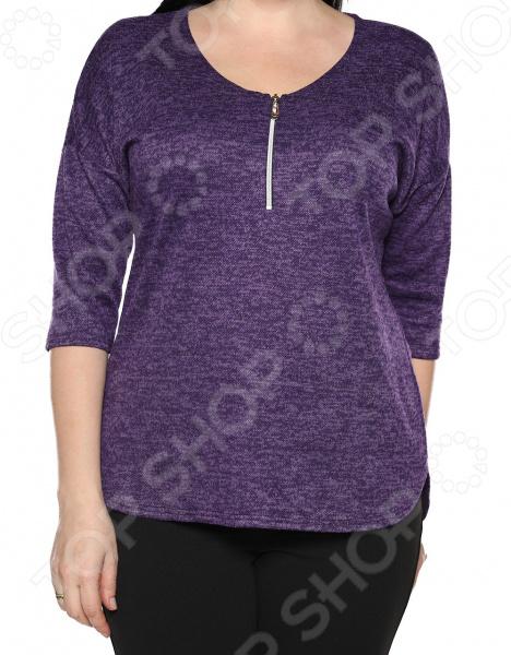 Блуза Blagof «Безоблачный день». Цвет: баклажановый блуза blagof блуза мерси цвет персиковый