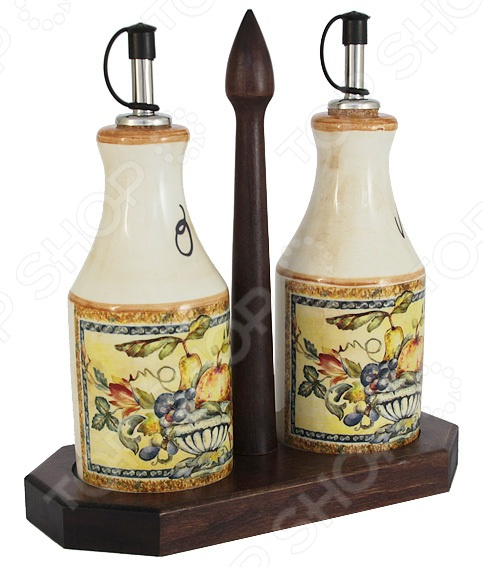 Набор емкостей для масла и уксуса LCS «Старая Тоскана»