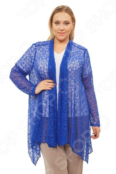«Прекрасная Ева». Цвет:синий Кардиган Pretty Woman «Прекрасная Ева». Цвет: синий