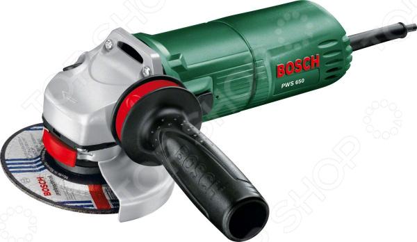 Машина шлифовальная угловая Bosch PWS 650 цена и фото