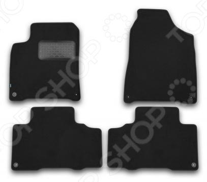 Комплект ковриков в салон автомобиля Klever SsangYong New Actyon 2010 Premium