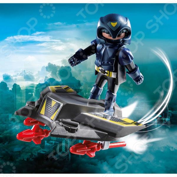 Конструктор игровой Playmobil «Экстра-набор: Небесный рыцарь с самолетом»