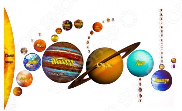 Пазл магнитный Геомагнит «Солнечная система»