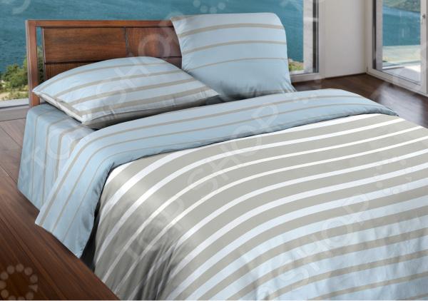 Комплект постельного белья Wenge Stripe Breeze. 1,5-спальный