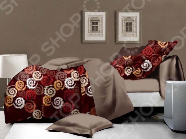 Комплект постельного белья Бояртекс «Вихри». 1,5-спальный