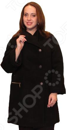 Пальто Klimini Нефертити. Цвет: черный