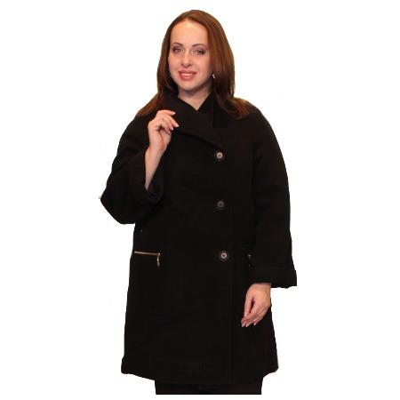 Купить Пальто Klimini Нефертити. Цвет: черный