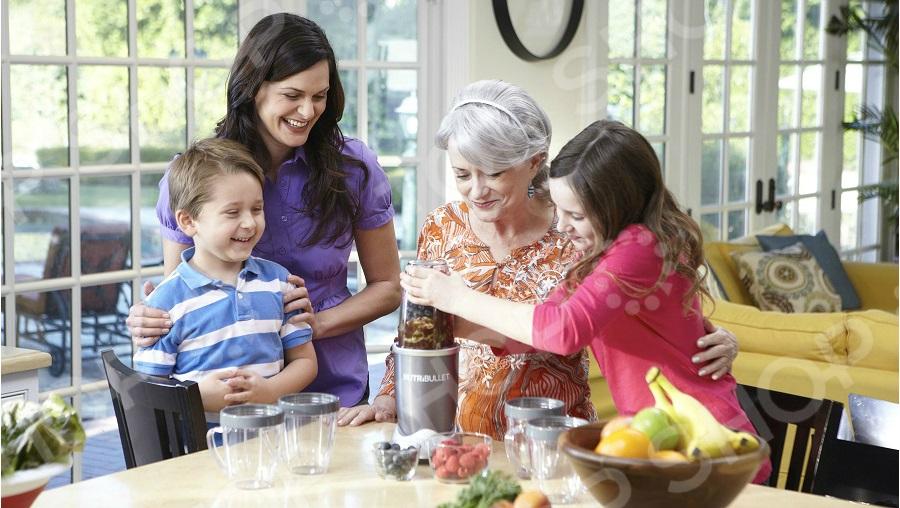 Экстрактор питательных веществ NutriBullet Pro Family Set 5