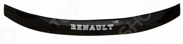 Дефлектор капота REIN Renault Duster, 2012, кроссовер (ЕВРО-крепеж)