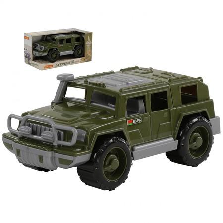 Купить Машинка игрушечная POLESIE «Джип военный. Защитник»