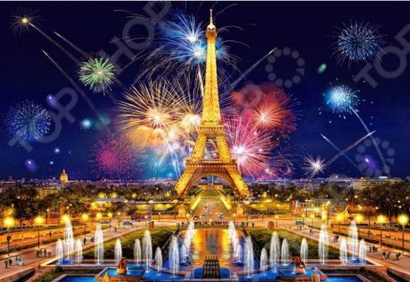 Пазл 1000 элементов Castorland «Очарование ночи. Париж»