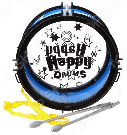 Барабан игрушечный Наша Игрушка «Счастливчик». В ассортименте