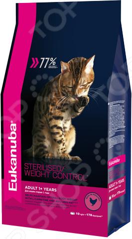 Корм сухой для стерилизованных кошек Eukanuba Sterilised Weight Control