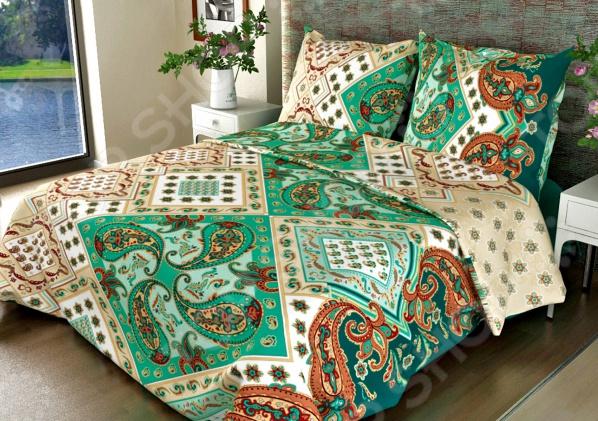 Комплект постельного белья Fiorelly «Восток» 308-2. 1,5-спальный