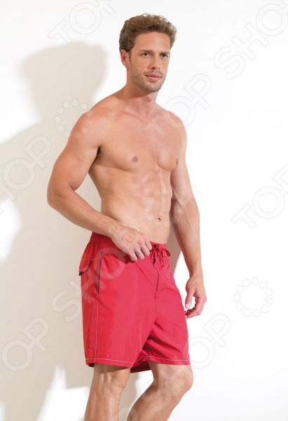 Шорты мужские пляжные BlackSpade 8015. Цвет: красный