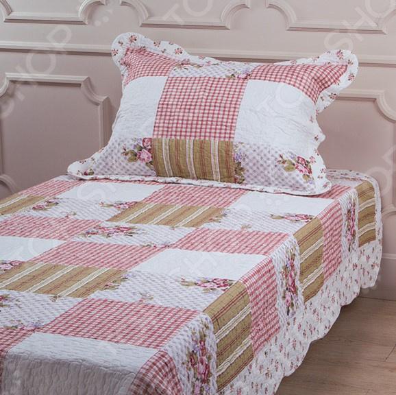 Комплект для спальни: покрывало и наволочка Santalino 806-004 для спальни