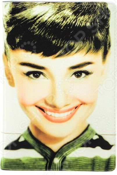 Визитница Mitya Veselkov «Одри улыбается» визитницы mitya veselkov визитница олени на черном