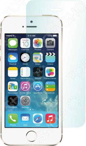 Стекло защитное skinBOX Apple iPhone 5/iPhone 5S защитное стекло skinbox для apple iphone 5 5s se