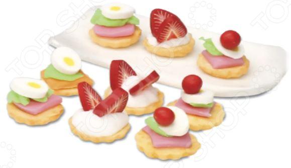 Набор для лепки Doner Land Miniatures Play «Канапе» всё для лепки miniatures play набор для лепки кремовый торт