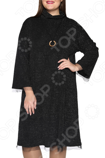 Платье Лауме-Лайн «Мафия любви». Цвет: черный