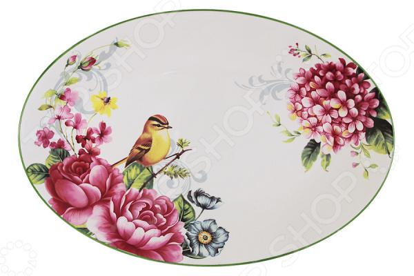 Блюдо Imari «Цветы и птицы» imari банка для сыпучих продуктов магнолия