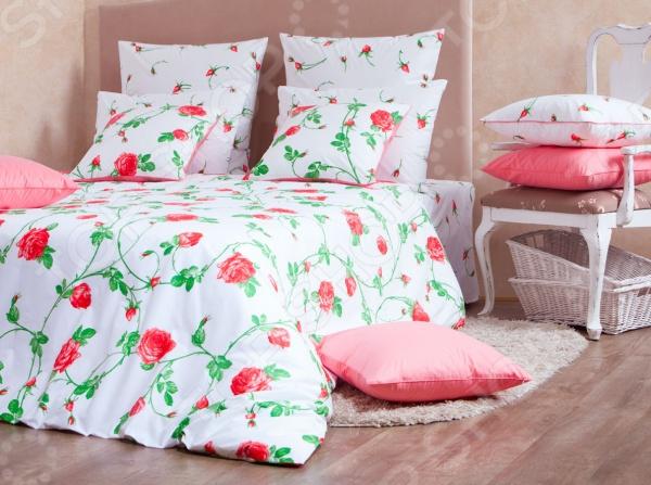 Комплект постельного белья MIRAROSSI Vittoria red комплект постельного белья mirarossi domenica