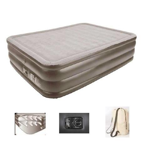 Купить Кровать надувная со встроенным электронасосом Relax Air bed with memory foam