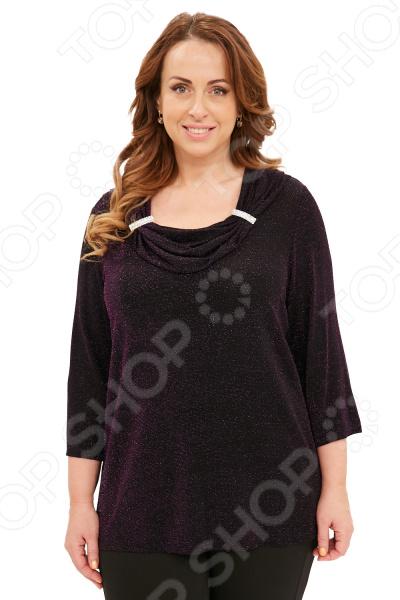 Блуза Blagof «Новогодний блеск». Цвет: фиолетовый блуза blagof блуза бабочка цвет красный