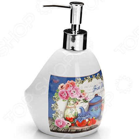 Диспенсер для мыла Loraine LR-26401 «Натюрморт»