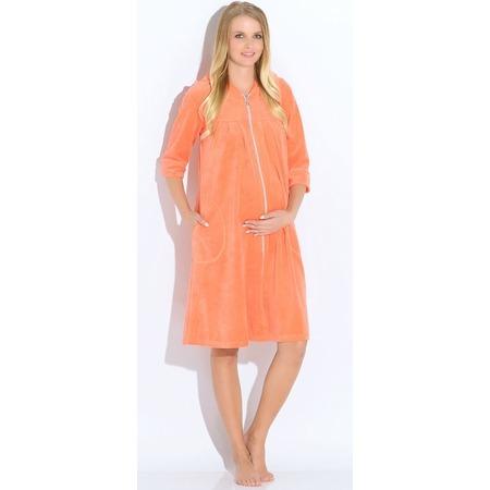 Купить Халат для беременных Nuova Vita 303.23 M.bella. Цвет: коралловый