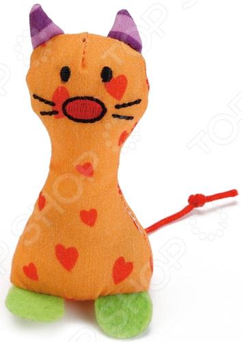 Игрушка для кошек Beeztees «Рыжий котик» когтерез для кошек beeztees 8см