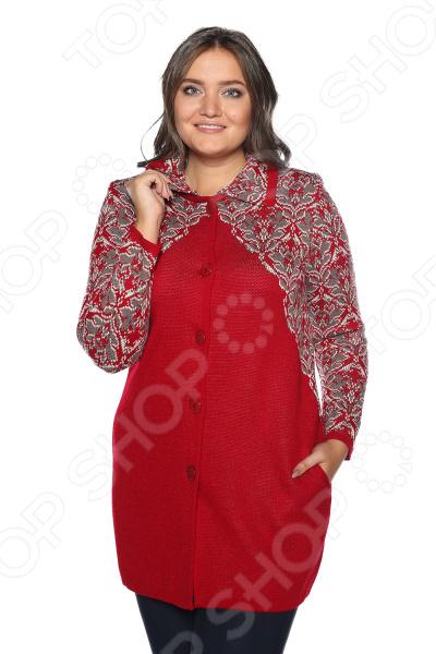 Пальто Milana Style «Шикарный голос». Цвет: красный юбка milana style цвет черный