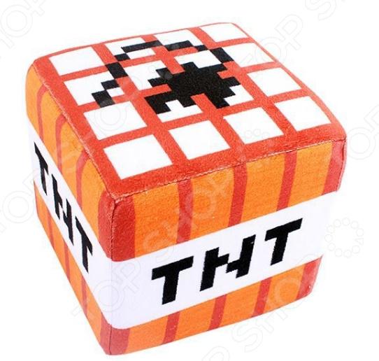Мягкая игрушка Minecraft ТНТ Блок