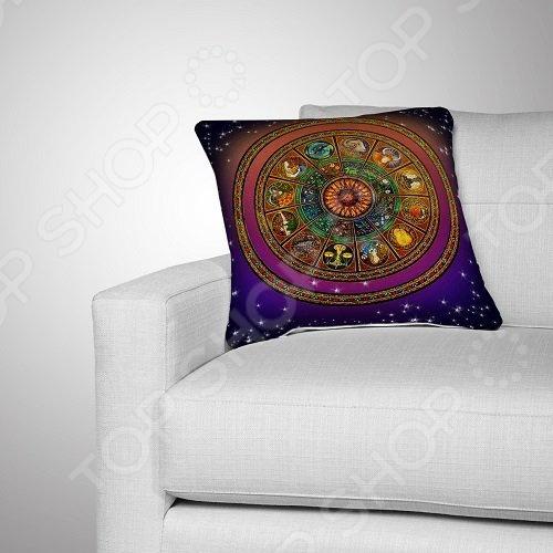 Подушка декоративная МарТекс «Зодиакальный круг»