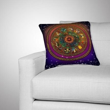 Купить Подушка декоративная «Зодиакальный круг»
