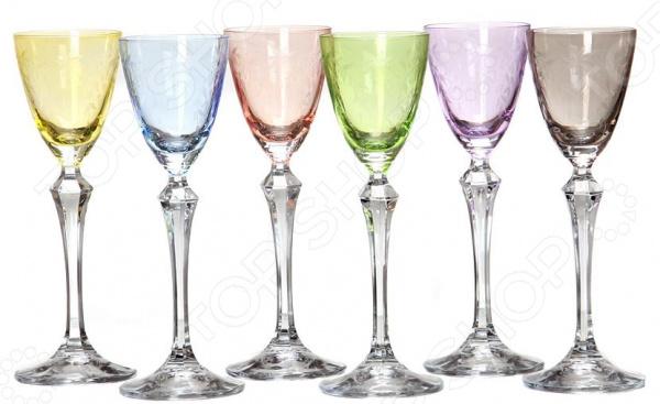 Набор рюмок Crystalex «Элизабет Флорал» набор рюмок crystalex джулия б декора 6шт 60мл стекло б декора