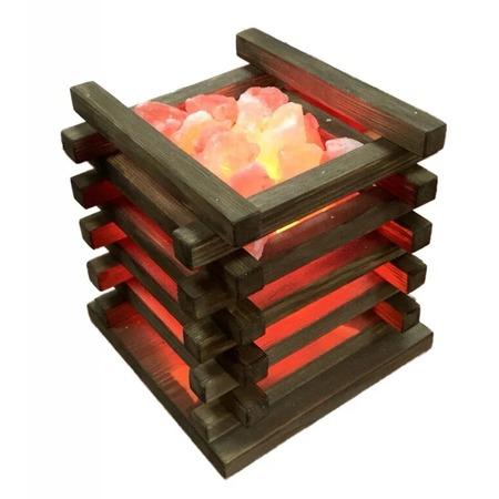 Купить Лампа солевая Zenet «Очаг»
