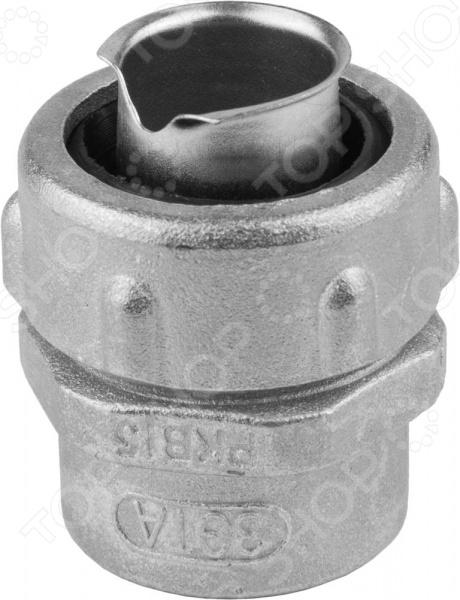 Крепеж для металлорукава с внутренней резьбой Светозар 60201 звонок электрический с кнопкой светозар нота 58037