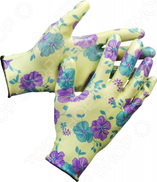 Перчатки садовые Grinda 11295 перчатки садовые grinda 11296