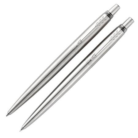 Купить Набор подарочный: ручка шариковая и карандаш Parker Jotter Core Stainless Steel CT