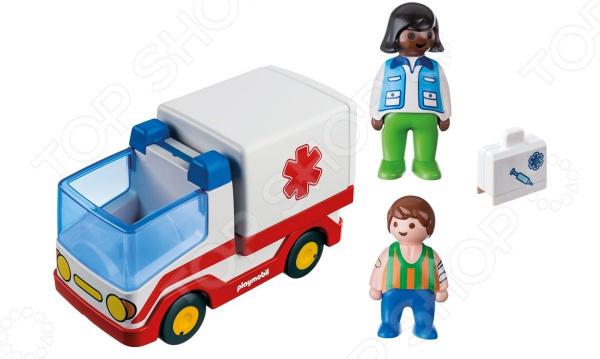 Конструктор для малыша Playmobil «Скорая помощь» playmobil® детская клиника вертолет скорой помощи playmobil